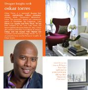 Designer Insights - Oskar Torres - 178x182